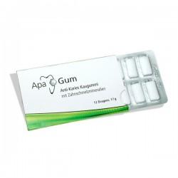 ApaGum guma do żucia remineralizująca szkliwo 12 szt sklep stomatologiczny oldent