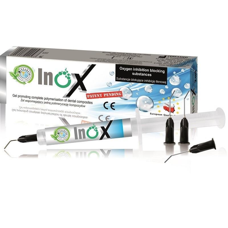 INOX 2 ML Żel wspomagający pełną polimeryzację kompozytu sklep stomatologiczny oldent