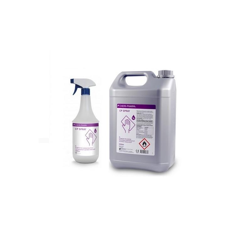 CP SPRAY 1L do szybkiej dezynfekcji powierzchni sklep stomatologiczny oldent