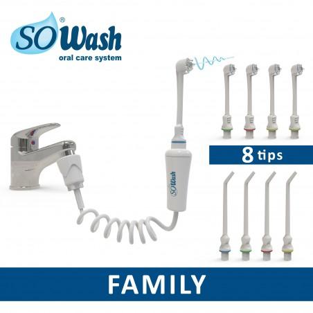 Irygator SoWash- zestaw Family