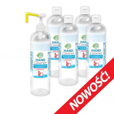 copy of Hand Cleaner zestaw 5 x 500 ml (2,5L) - Płyn do dezynfekcji rąk