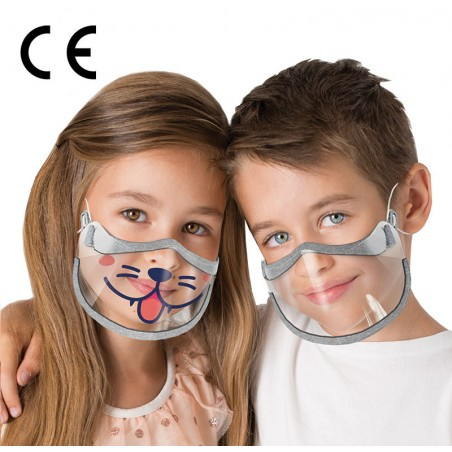 Maska na usta i nos dla dzieci KIDS SHIELD – 2 szt